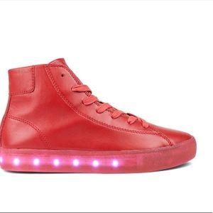 Men's POP fairmount red lights shoes size 12